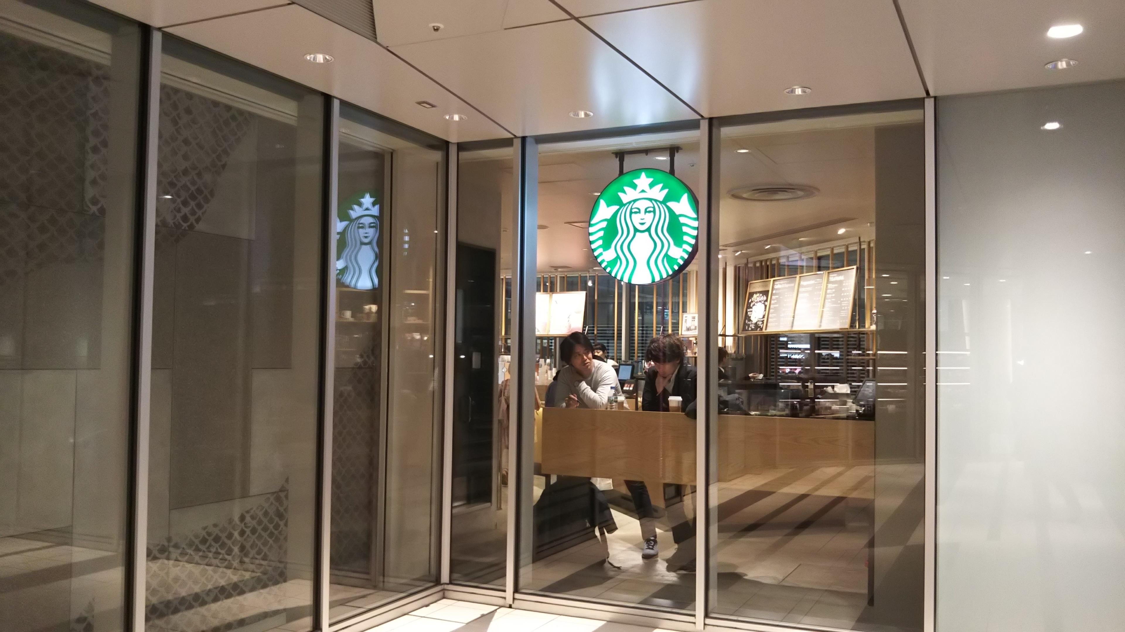 スターバックス渋谷ヒカリエ ShinQs店